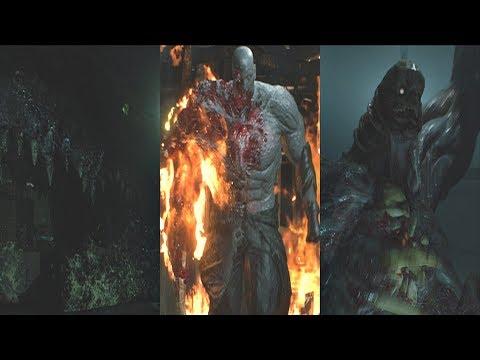 Resident Evil 2 Remake Hunk The 4th Survivor Gameplay