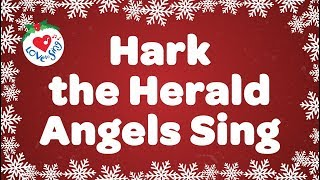 Hark the Herald Angels Sing with Lyrics | Christmas Carol & Song | Children Love to Sing