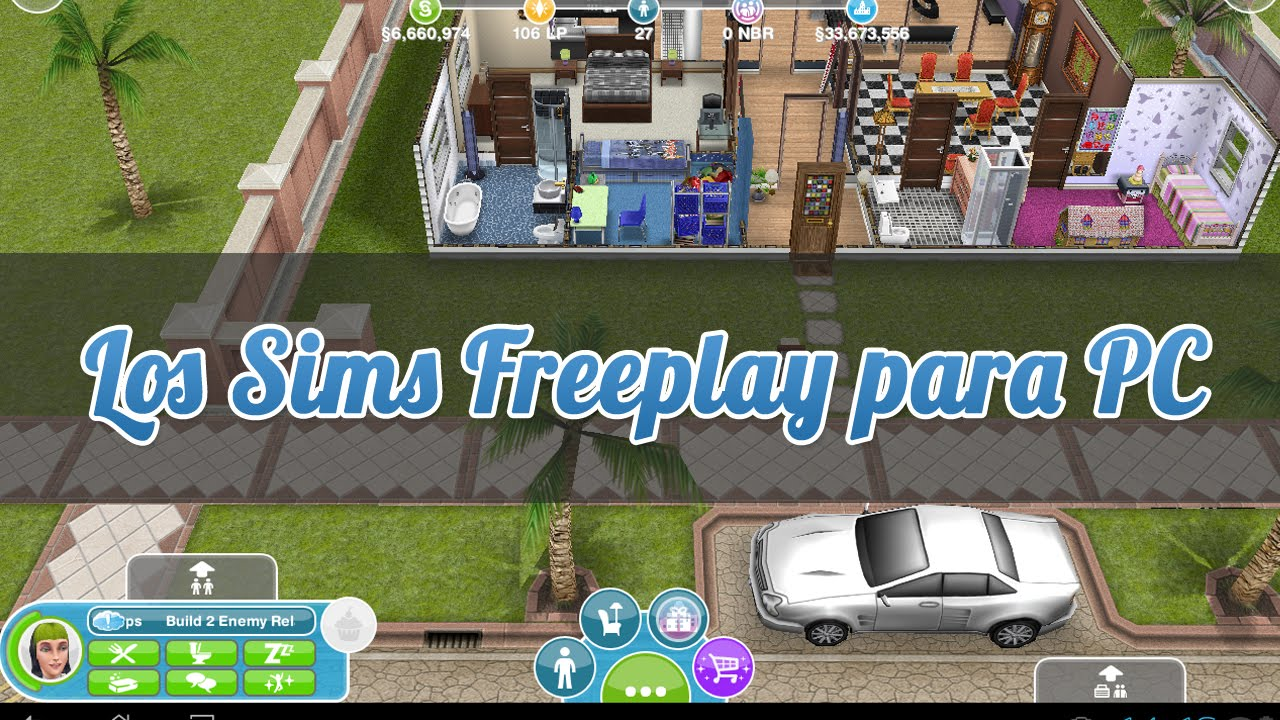 Descargar Los Sims Freeplay para PC - YouTube