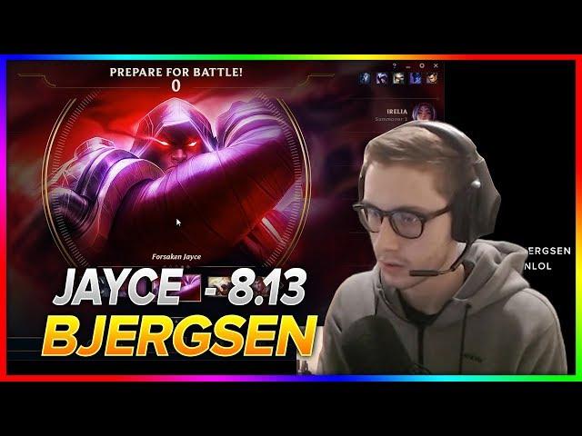 708. Bjergsen - Jayce vs Lissandra - Mid - Season 8 Patch 8.13 - NA Challenger