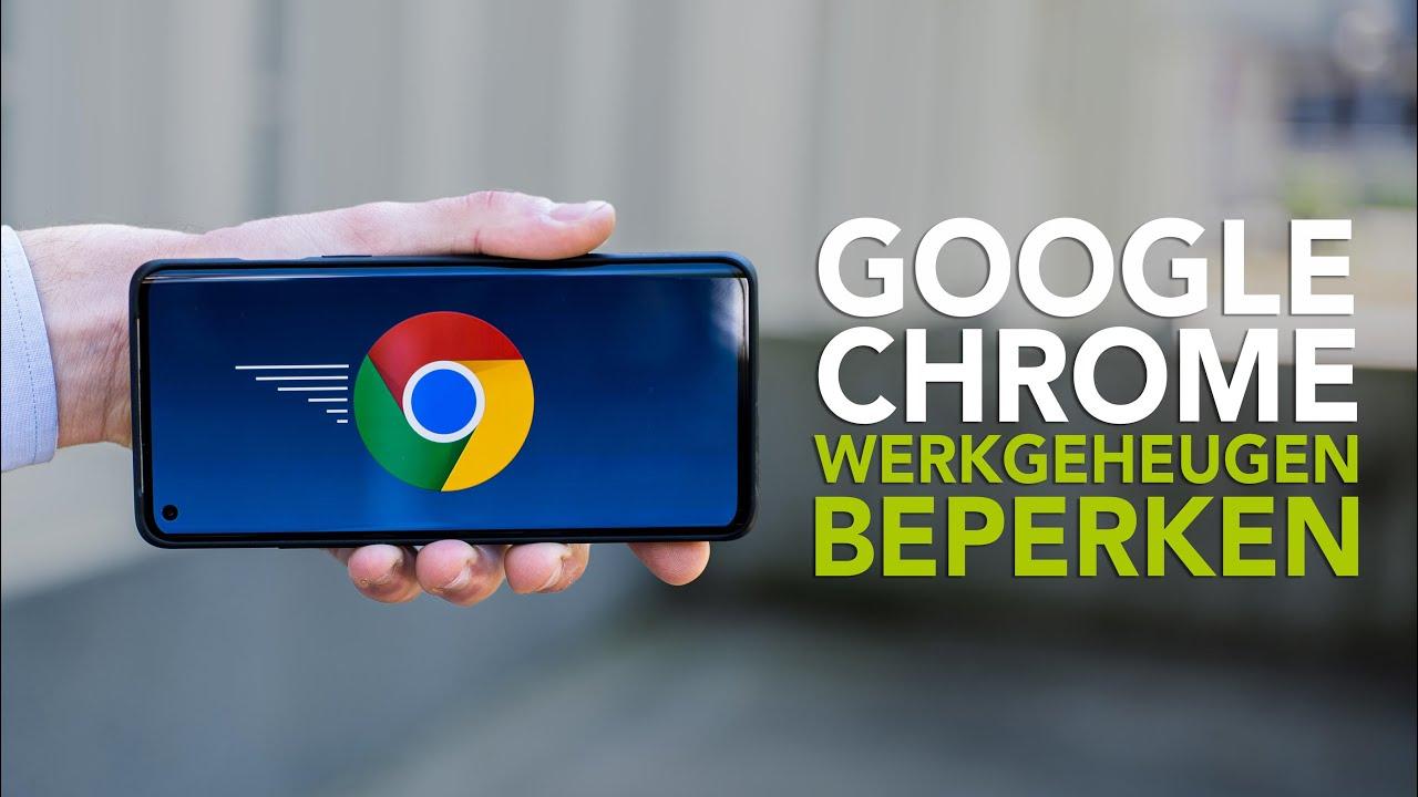 Zo zorg je ervoor dat Chrome niet al je werkgeheugen opeet