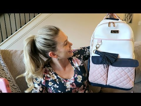 REACTING TO MY NEW DIAPER BAG LINE PROTOTYPE!