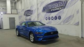 2019 Ford Mustang W/ 2.7L EcoBoost, Power Trunk Overview | Boundary Ford
