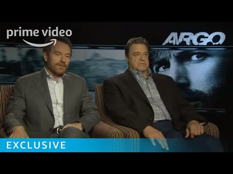 Bryan Cranston & John Goodman Argo Interview