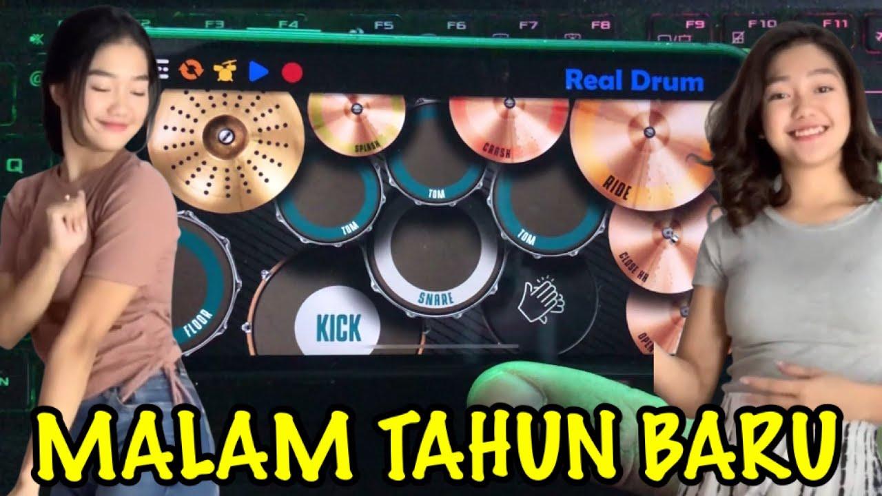 DJ MALAM TAHUN BARU 2021 - MASHUP LAGU TIK TOK VIRAL | REAL DRUM COVER