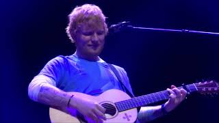 Ed Sheeran - The A Team/Way To Break My Heart/Give Me Love @ Theatre Royal Haymarket 14/07/19