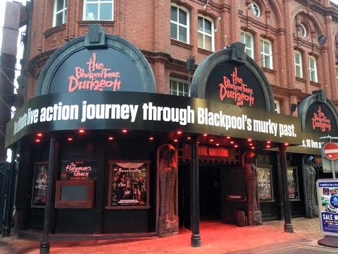 Blackpool Attractions Vlog February 2016