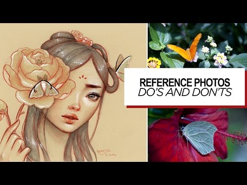 Tips on using reference photos || 30 Days of Art Episode 18