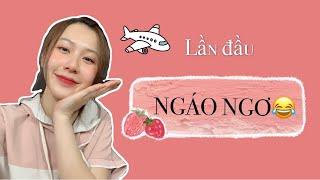 Chuyến đi Trung Quốc NGÁO NGƠ đầu tiên của mình 😂| Mina Channel| Du học Trung Quốc vlog