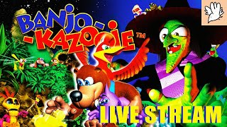 BANJO AND KAZOOIE - PART 2 - A VERY PASSIVE LIVE STREAM