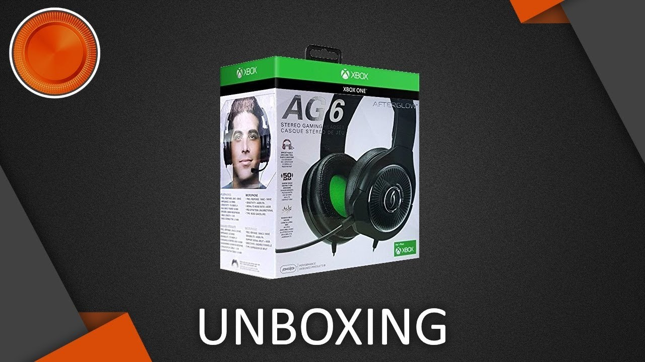 Unboxing - Afterglow AG6 Wired Stereo Gaming Headset - YouTube 64a5096587c79
