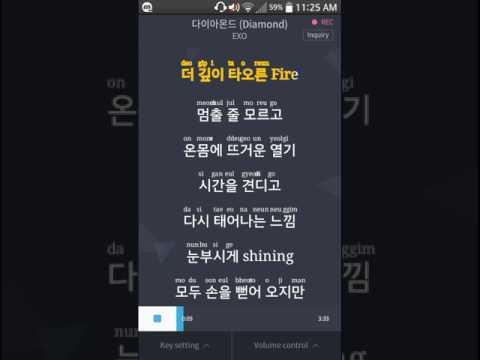 EXO - Diamond (다이아몬드) Instrumental Karaoke