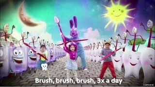 Don't forget to brush, brush, brush 3x a day with Colgate!