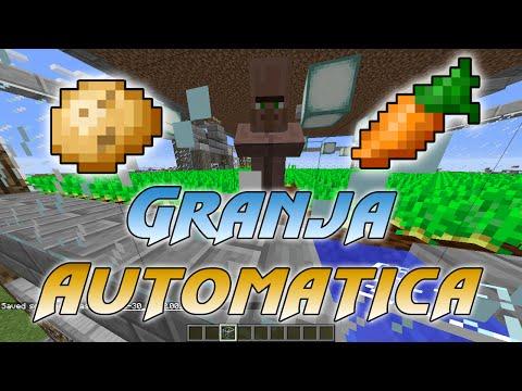 tutorial---patatas/zanahoria-granja-automatica-con-aldeanos