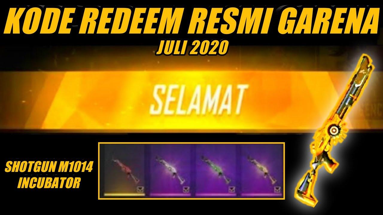 KODE REDEEM FF TERBARU JULI 2020 DAPAT HADIAH LANGSUNG DARI GARENA - REDEEM CODE FREE FIRE #66