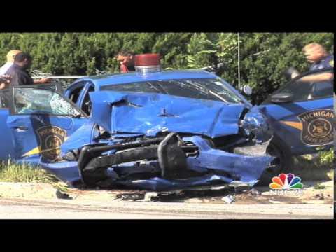 Car Crash Michigan Video