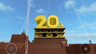 Logotipo de 20th Century Fox con Fanfare Invertida Roblox