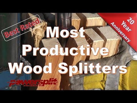 100 Ways To Split Firewood Best Cleaver Saw And Log S