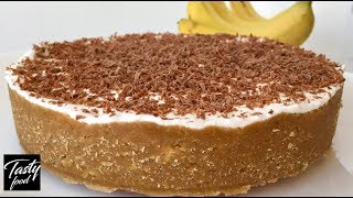Банановый Баноффи - Самый Нежнейший Десерт (ТОРТ) БЕЗ ВЫПЕЧКИ!