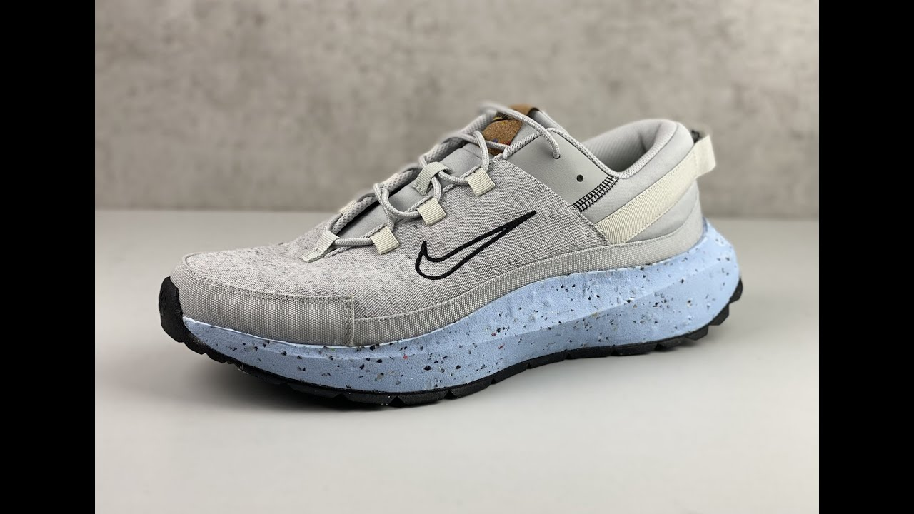 BEST NIKE CRATER REMIXA COLOURWAY YET?! | chambray grey | UNBOXING & ON FEET | fashion shoes
