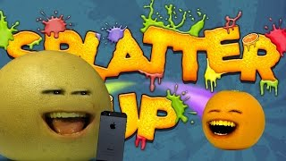 GRAPEFRUIT STRIKES OUT! - Let's Play Annoying Orange Splatter Up