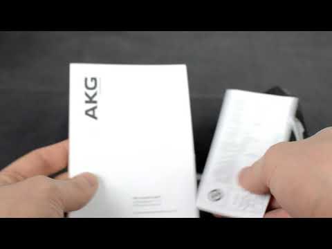 AKG K 321 in-ear headphones unboxing