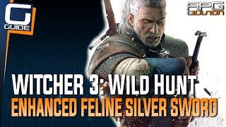 Witcher 3: The Wild Hunt - Enhanced Feline Silver Sword Diagram Location (Cat School Gear)