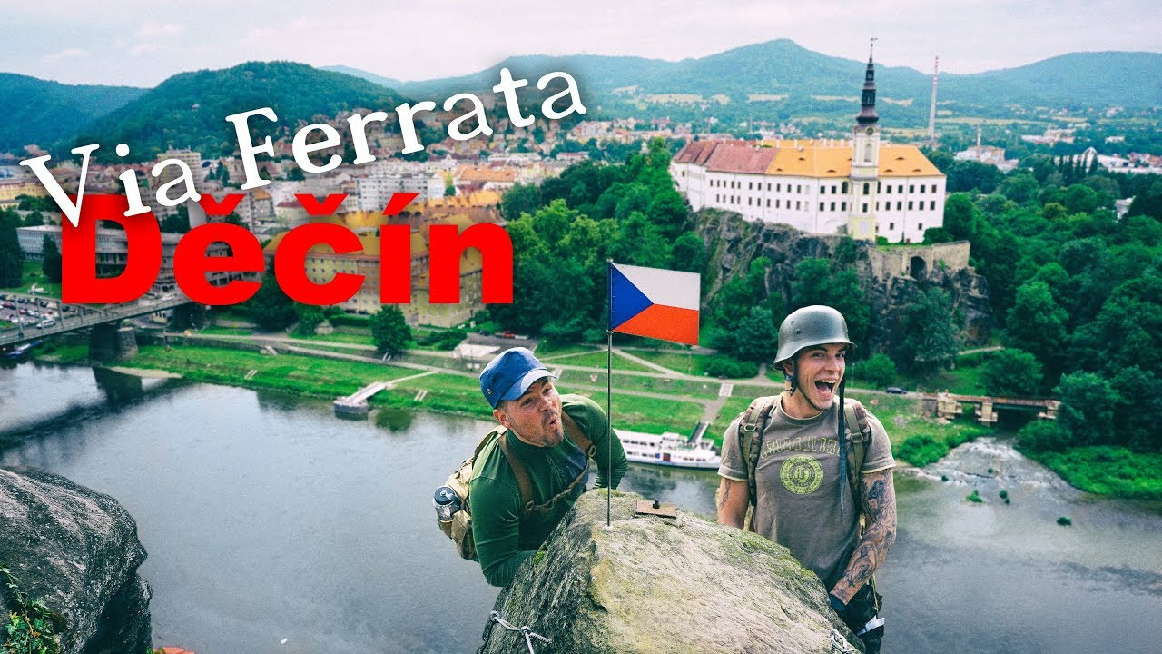 Klettersteig Decin : Klettersteig via ferrata decin verschiedene routen