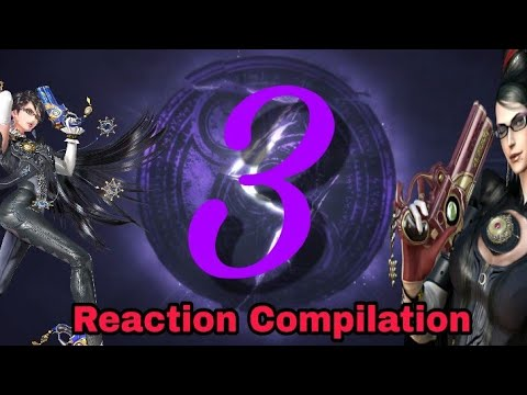 Bayonetta 3 Teaser Trailer - The Game Awards 2017 - Reaction Compilation