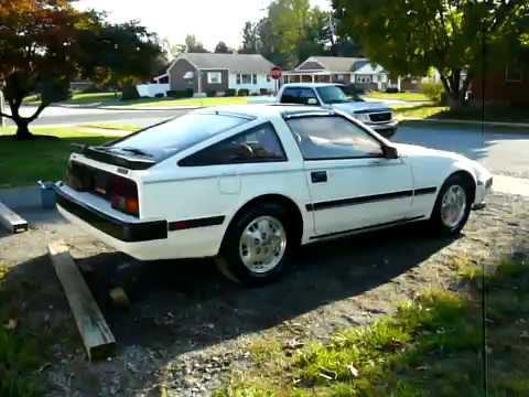 1985 Nissan 300ZX Turbo Just Purchased Oct17 ,2010  YouTube