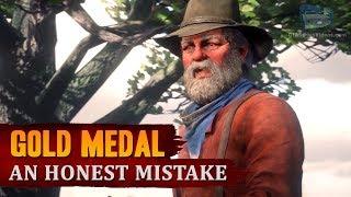Red Dead Redemption 2 - Mission #34 - An Honest Mistake [Gold Medal]