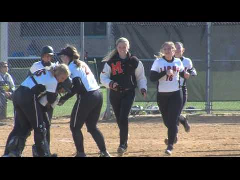 Middletown North 8 Toms River North 7 US Army Softball GOW