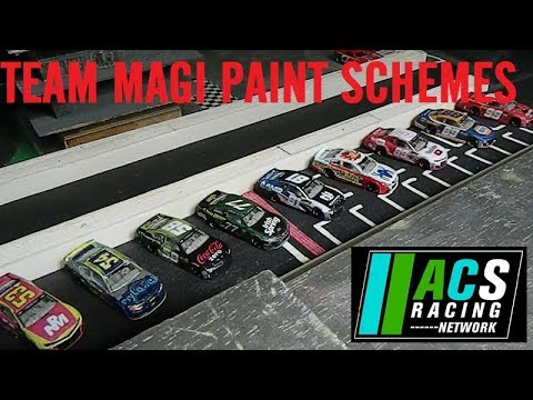 Season 9 Custom Paint Schemes - Fast Friday