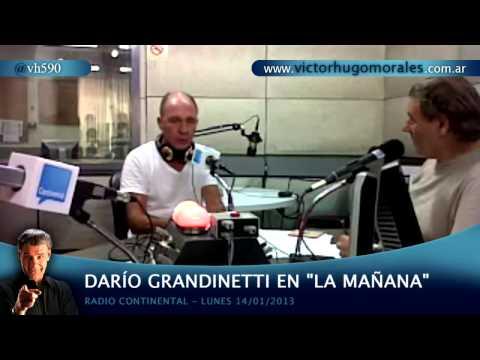 """Dario Grandinetti en """"La Mañana"""" - Radio Continental 14/01/2013"""