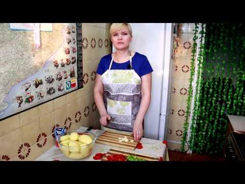 Рецепт куриные желудочки с картофелем