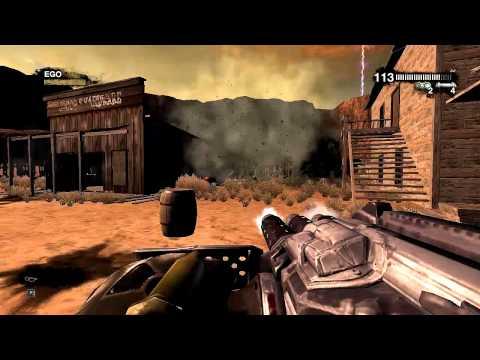 Duke Nukem Forever: Walkthrough - Part 1 [Chapter 14] - Ghost Town (Gameplay) [Xbox 360, PS3, PC]