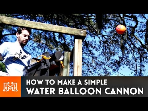 How to Make a DIY Water Balloon Cannon