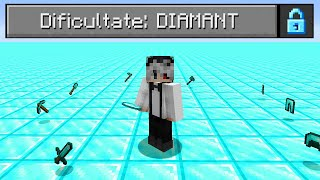 Bat Minecraft Pe O Lume Superflat Plina Cu Diamante!