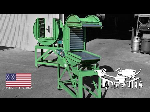 180º Component Flipper | Roller Conveyor & Ball Transfer