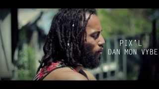 """Pix-l - Dan mon Vybe """" Coqlakour riddim 5 """" ( Official Vidéo by Jal ) Juin 2014"""