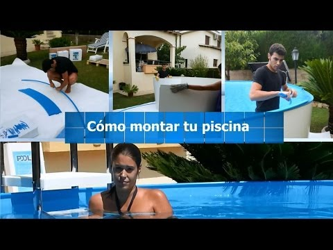 Montaje piscina mypool youtube for Montar piscina desmontable