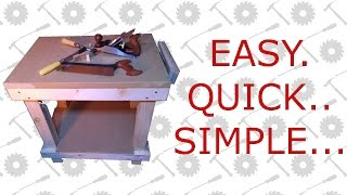 Mini Workbench - Quick & Simple