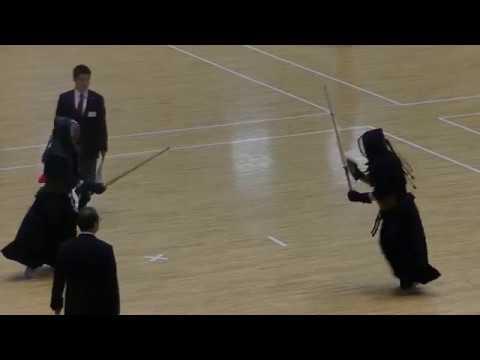 【剣道】礼儀正しい槌田選手(九州学院→明大)Kendo good manners