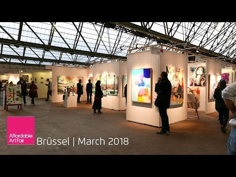 Affordable Art Fair Brüssel 2018