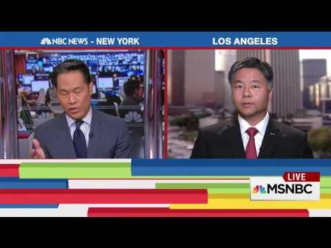 REP. LIEU MSNBC INTERVIEW WITH RICHARD LUI