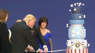 Trump's patriotic cake causes controversy