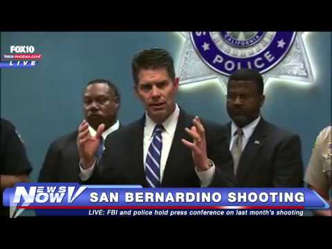 FNN: FBI Press Conference on San Bernardino Mass Shooting One Month Later
