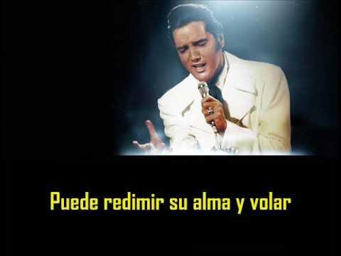 ELVIS PRESLEY -  If I can dream ( con subtitulos en español )  BEST SOUND