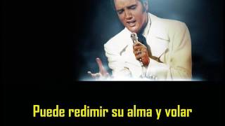 ELVIS PRESLEY -  If I can dream ( con subtitulos en español )  BEST SOUND