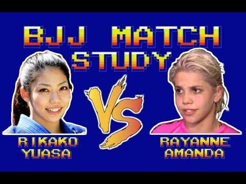 BJJ Match Study: Rikako Yuasa Vs Rayanne Amanda
